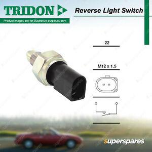 Tridon Reverse Light Switch for Audi A2 A3 TT A1 S3 1.4L - 3.2L TFSI