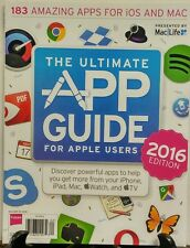 Mac Life The Ultimate App Guide For Apple Users 2016 Edition FREE SHIPPING sb