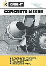 Equipment Brochure - Knight - Concrete Mixer - Farm Tractor Version (E3284)