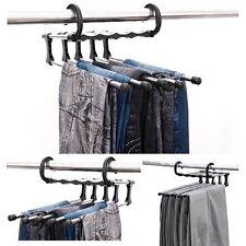 1Pcs Trousers Pants Hanger Multi-function Retractable Closet 5 in 1