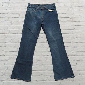 W28 Pants Vintage Men/'s 70/'s Big E Levi/'s 646 Beige Corduroy Bell Bottom