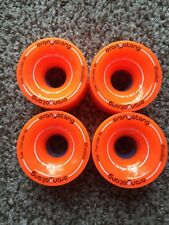 ORANGATANG 4 President Orange Longboard  wheels 70mm 80a New!
