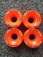 ORANGATANG 4 President Orange Longboard  wheels 70mm 80a New!