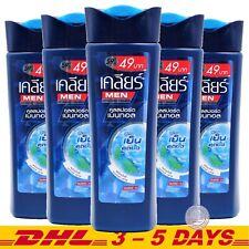 145 ml x 5 : Clear Men Shampoo Anti-Dandruff Cool Sport Menthol