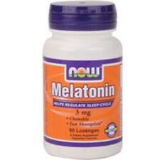 Melatonina 90 Pastillas 3MG por Now Foods