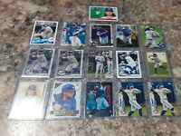 Bo Bichette 2020 Bowman Chrome, Topps and Sps photo Variation Rookie RC LOT (16)