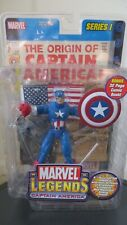 Marvel Legends Captain America, Series 1 Complete in Open Package