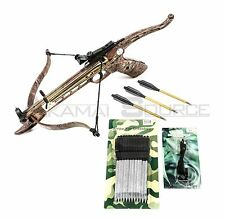 CAMO Cobra Self Cocking Tactical Crossbow Pistol 80lb Draw Small Game Hunting