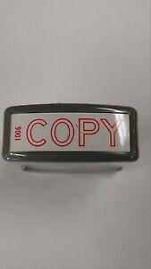 """Xstamper """"COPY"""" 1006 Stamp"""