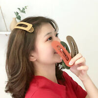 Fashion Big Hairpin Large Barrettes Duckbill Clip Candy Color Frosted Hair Clip