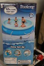 Bestway 12 Foot Fast Set Swimming Pool Filter & Pump