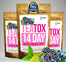 MIXED BERRY TEATOX 14 DAY DETOX SET (Weight Loss Tea, Slimming Tea BURN FAT TEA)