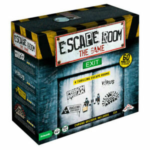 Escape Room The Game Board Game - 4 Rooms + Chrono Decoder
