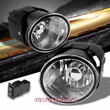 Clear Lens Bumper Fog Light Lamp+Bulb+Switch For Sentra/Maxima/Frontier/Xterra