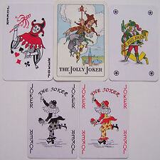 5 verschillende Jokers, playing cards (4)
