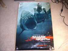 Shark Night 3D Variant DS Movie Poster 27x40 Authentic
