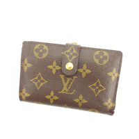 Louis Vuitton Wallet Purse Coin purse Monogram Brown Woman Authentic Used Y6359