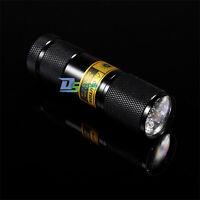Portable 9 12 21 51 LED Ultra Violet UV Blacklight Flashlight Torch Light Lamp