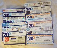 Bed Bath & Beyond 20% Off Single Item Coupons - 10 Coupon Lot #2