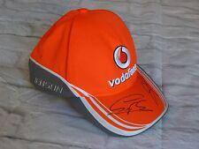 Cap signed Sergio PEREZ - Jenson BUTTON Grand Prix F1 Formule 1 mc gp Vodafone