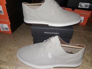 NEW $80 Mens Rockport Austyn Plain Toe Shoes size 10.5 WIDE