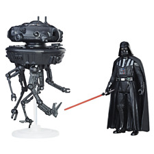 Star Wars EP8 Force Link Imperial Probe Droid Darth Vader 3.75 Inch 2-Pack