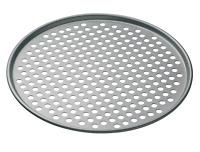 KitchenCraft MasterClass Non Stick Pizza Crisper Tray for Oven, 32 cm