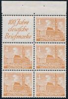 BERLIN 1949, Heftchenblatt 4 B, tadellos postfrisch, Mi. 40,-