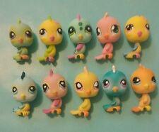 Littlest Pet Shop Parakeet/Finch Lot  #12,123,190,206,546,553,595,976,1703,no#