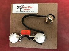 Prewired Wiring Kit Fits Gibson Epiphone Les Paul Jr Orange Drop Tone Cap