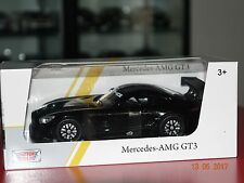 Mercedes AMG GT3 schwarz 1:24 Motormax 73386bk neu & OVP