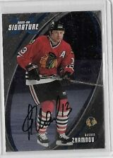 ALEXEI ZHAMNOV 2002-03 IN THE GAME X SERIES CERTIFIED AUTOGRAPH