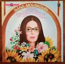 25 CM  NANA MOUSKOURI Mon enfant (livre disque) Excellent état (EX)