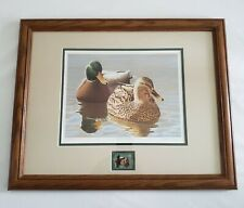 Mallard Morning Framed Print Nathan Closson Signed 2002 2003 Junior Duck Stamp