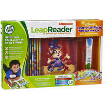 LeapFrog LeapReader Reading & Writing System: Pen + 10 Books Mega Pack Leap Frog