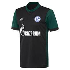 Camisetas de fútbol de clubes alemanes para hombres schalke