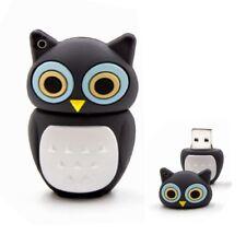 USB Stick 16GB Speicherstick Geschenk Design Eule Vogel süß mini Owl schwarz