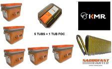 KMR FENCING STAPLES - 40mm X 5 TUBS PLUS 1 TUB FOC