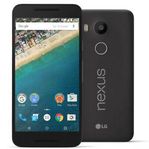 "LG Google Nexus 5X H791 32GB (FACTORY UNLOCKED) 5.2"" HD - black"