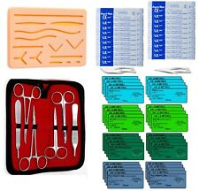 59 Piece Practice Suture Kit for Medical and Veterinary Student Training