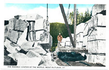 WEST RUTLAND VT – The Marble Center of the World