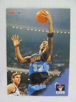 Tyron Hill Cleveland Cavaliers 1996 NBA Hoops Basketball Card 28