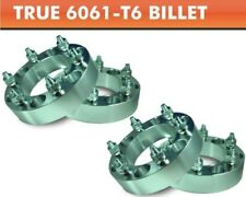 """4 Wheel Adapters 6x5.5 to 6x5.5   For Toyota Mazda Older Chevy Spacers 1"""""""