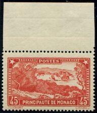Lot N°5061 Monaco Rouge Brique N°123a Neuf ** LUXE