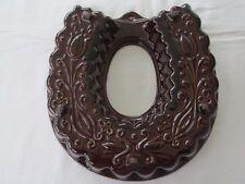 Scheurich Keramik Backform Hufeisen zum Aufhängen Kranzform Zopf 30x31x6,5 cm