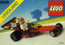 LEGO Town Red Line Racer (6526) (Vintage) (Lot 2)