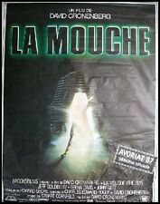 LA MOUCHE / FLY Movie Poster / Affiche Cinéma JEFF GOLDBLUM DAVID CRONENBERG