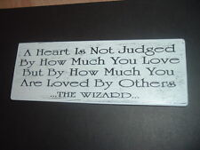 Shabby Wizard of Oz quote plaque large chic n unique