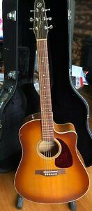 Seagull Entourage Rustic CW QI Acoustic guitar