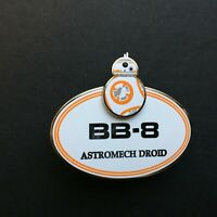 Cast Member - BB-8 Name Tag - Star Wars Disney Pin 127770